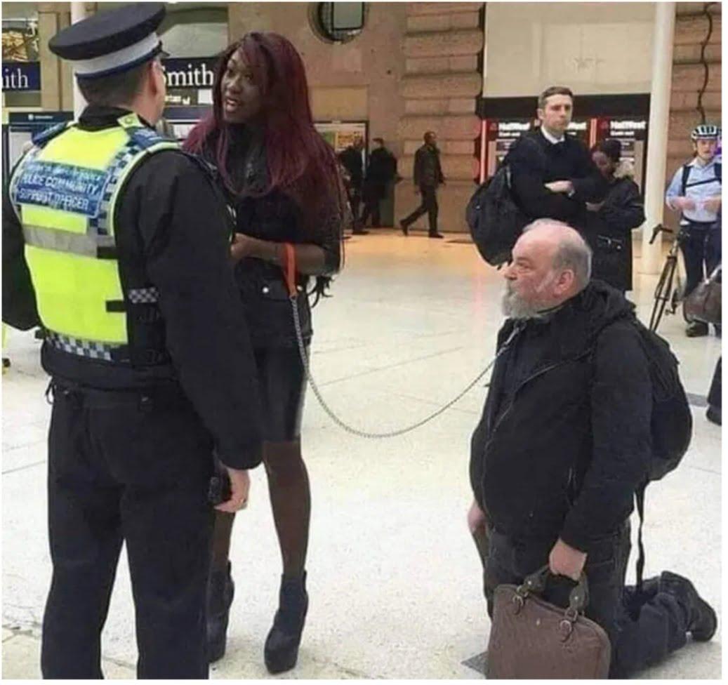 Ultima modă britanică: bărbatul, animal de companie