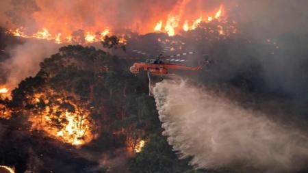 NASA: Fumul de la incendiile din Australia va înconjura planeta