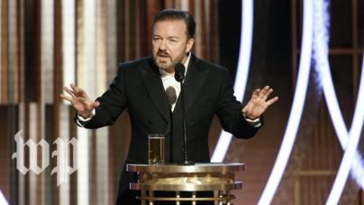 "Ricky Gervais ""a comis-o"" din nou!"