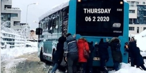 Otokar la zăpadă: Comandamentul de iarna în acțiune