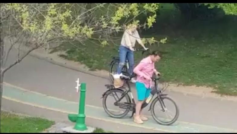 Sfidare! Primarul Negoiță, cu iubita în parc!