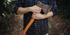 Incident grav! Mafia lemnului face legea cu toporul