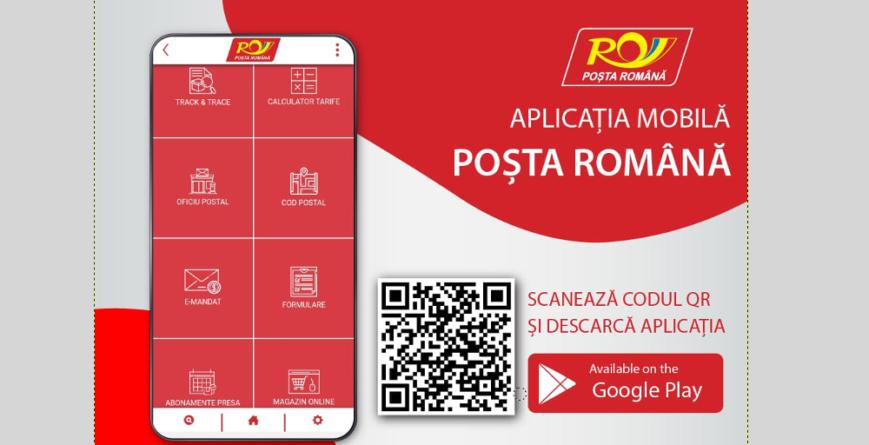 Poșta Română a lansat o aplicație mobilă pentru Android