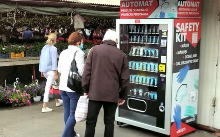 Automate cu mânuși/măști de protecție. Care sunt prețurile