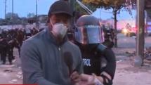 JurnaliștiCNN, arestați în SUA, în direct
