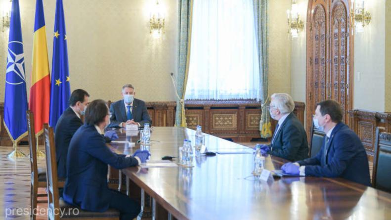Iohannis, ședință cu Isărescu: Este nevoie de măsuri