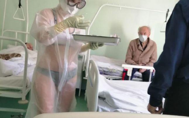 Tratament pentru Covid în Rusia: Asistente fără inhibiții