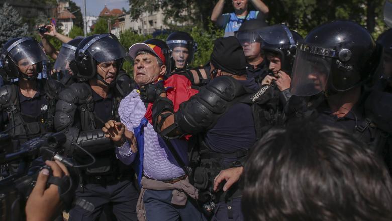 10 August. Conturile Jandarmeriei Capitalei, blocate