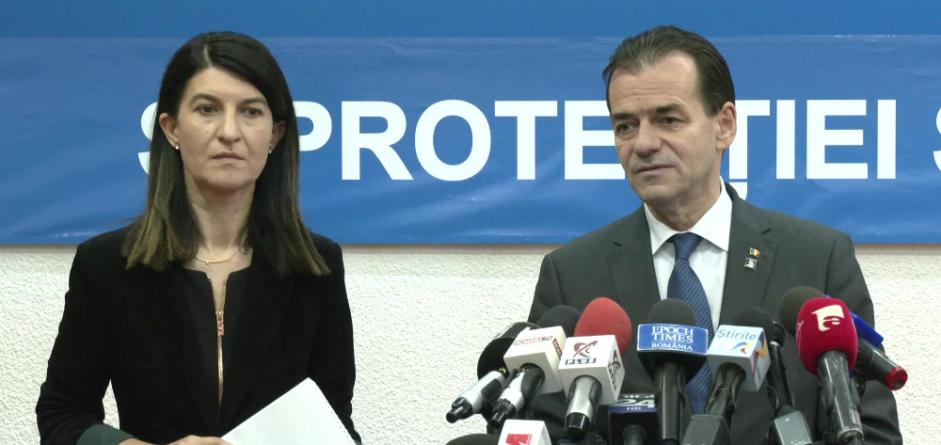 Orban și Alexandru s-au contrazis pe tema măștilor