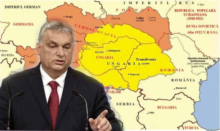 Premierul Viktor Orban publică harta Ungariei MARI