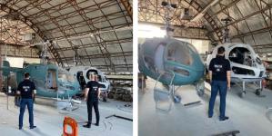 Fabrică ILEGALĂ de ELICOPTERE, descoperită pe malul Nistrului