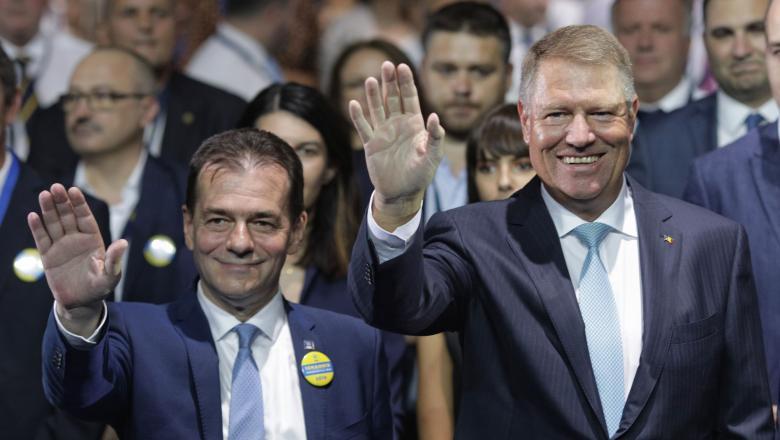 Iohannis și Orban, mesaje pentru copii