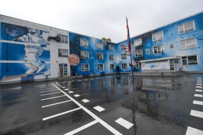 O fotografie cu o școală din Capitală apare în Washington Post