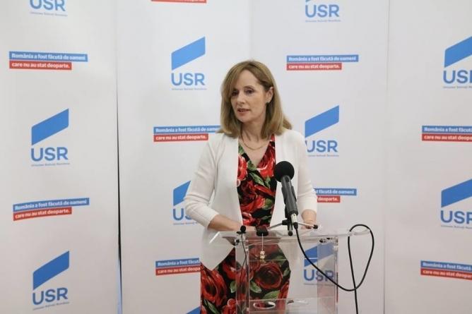 Roxana Wring, fost lider USR Bucureşti, colaborator al Securităţii