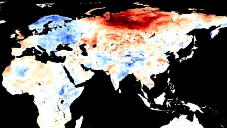 Record ISTORIC de temperatură:+38 de grade în Siberia