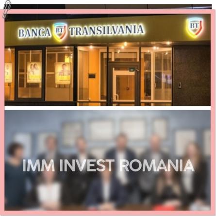 Banca Transilvania își bate joc de IMM Invest