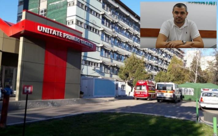 Denunțătorul lui Vîlcov distruge Spitalul Județean Olt