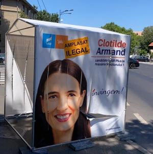 Clotilde Armand, corturi ilegale în 21 de locații