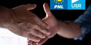 """Țeapa """"Dreptei unite"""" la București: alianța PNL-USR nu există!"""