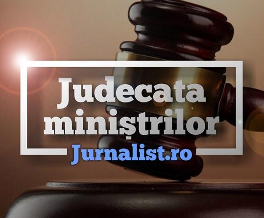 Judecata miniștrilor, proiect jurnalistic unic