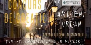 "CONCURS DE CREATIE – ""AMBIENT URBAN"""