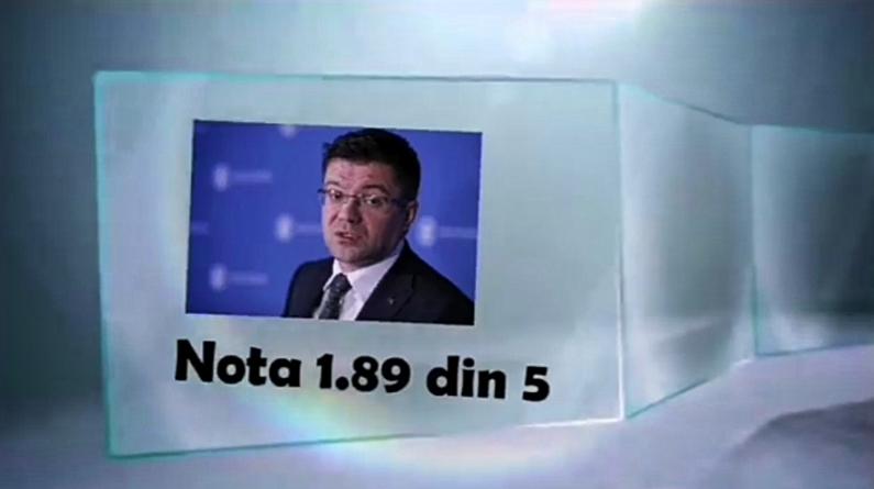 Alexe de la Mediu, record negativ: nota 1,89 din 5