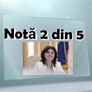"""Ministrul educației, """"corigent"""": nota 2 la Judecata miniștrilor"""