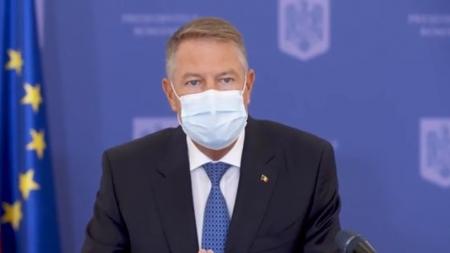 Iohannis: Covid-19 și PSD, amenințări la adresa României