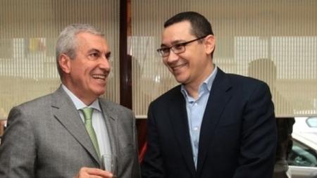 Tăriceanu şi Ponta, marii perdanți ai alegerilor, fuzionează