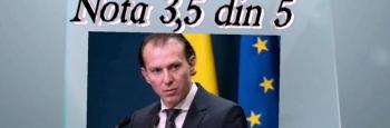 Ministrul Cîțu: peste medie, dar sub podium cu 3,5