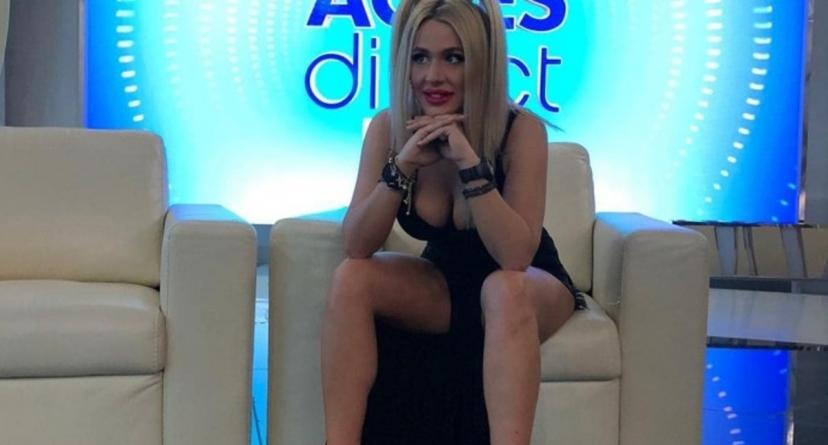 Dansatoarea de manele Emy, angajată la DSP București