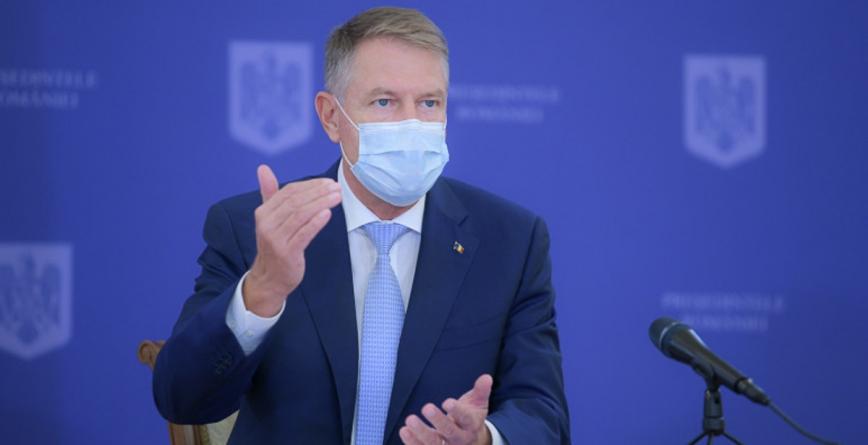 Iohannis: Mă voi vaccina public împotriva Covid-19