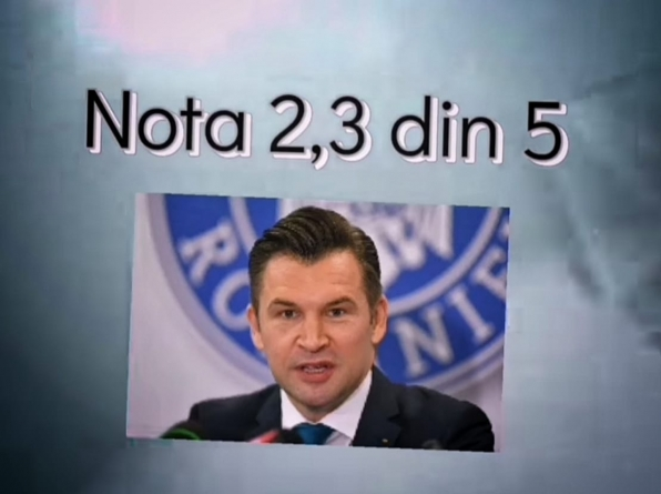Ministrul Stroe de la Sport nu se califică în top